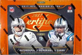 2017 Panini Certified Football Hobby Box Panini | Cardboard Memories Inc.