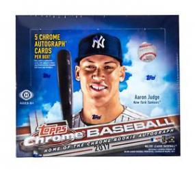 2017 Topps Chrome Baseball Jumbo Box Topps | Cardboard Memories Inc.