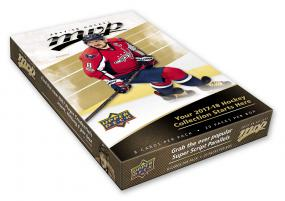 2017-18 Upper Deck MVP Hockey Hobby Box Upper Deck | Cardboard Memories Inc.