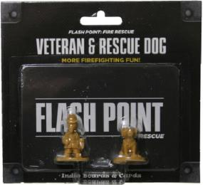 Flash Point - Veteran & Rescue Dog Accessory Pack Indie Board and Cards | Cardboard Memories Inc.