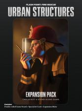 Flash Point - Fire Rescue - Urban Structures Expansion Pack Indie Board and Cards | Cardboard Memories Inc.