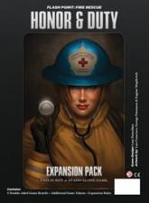 Flash Point - Fire Rescue - Honor & Duty Expansion Pack Indie Board and Cards | Cardboard Memories Inc.