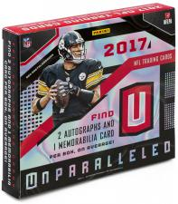 2017 Panini Unparalleled Football Hobby Box Panini | Cardboard Memories Inc.