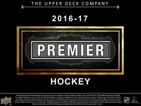 2016-17 Upper Deck Premier Hockey Hobby Box Upper Deck | Cardboard Memories Inc.