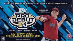 2017 Topps Pro Debut Baseball Hobby Box Topps | Cardboard Memories Inc.