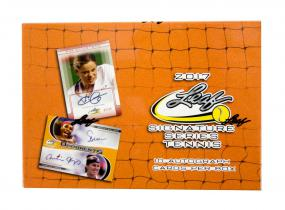 2017 Leaf Signature Series Tennis Hobby Box Panini | Cardboard Memories Inc.