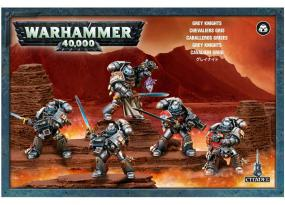 Warhammer 40,000 - Grey Knights 57-08 Games Workshop | Cardboard Memories Inc.