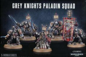 Warhammer 40,000 - Grey Knights Paladin Squad Games Workshop | Cardboard Memories Inc.