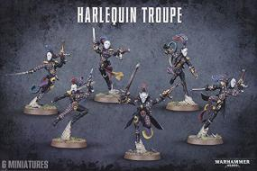 Warhammer 40,000 - Harlequin Troupe 58-10 Games Workshop | Cardboard Memories Inc.