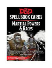 Dungeons And Dragons: Martial Powers & Races Wizards of the Coast | Cardboard Memories Inc.