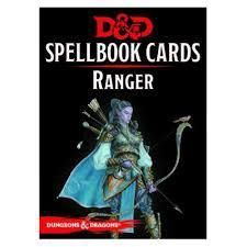 Dungeons & Dragons Spellbook Cards - Ranger Wizards of the Coast | Cardboard Memories Inc.