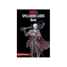 Dungeons And Dragons: Bard Spellbook Cards Wizards of the Coast | Cardboard Memories Inc.