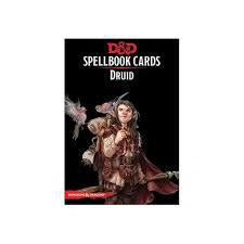Dungeons And Dragons: Druid Spellbook Cards Wizards of the Coast | Cardboard Memories Inc.