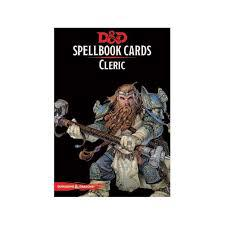 Dungeons And Dragons: Spellbook Cards Cleric Wizards of the Coast | Cardboard Memories Inc.
