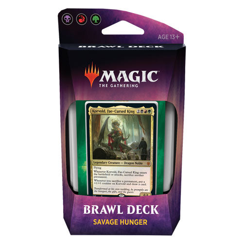 Magic the Gathering - Throne of Eldraine - Brawl Deck - Savage Hunger