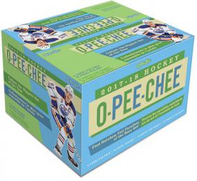 2017-18 Upper Deck O-Pee-Chee Hockey Retail Box Upper Deck | Cardboard Memories Inc.