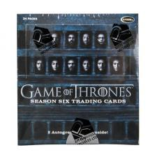Game of Thrones Season 6 Hobby Box Rittenhouse | Cardboard Memories Inc.