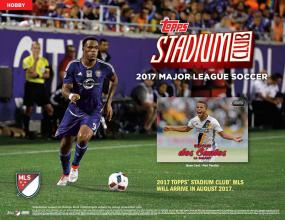 2017 Topps Stadium Club Soccer Hobby Box Topps | Cardboard Memories Inc.