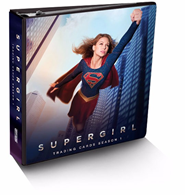 2018 Cryptozoic Supergirl Season 1 Trading Cards Binder