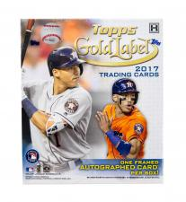 2017 Topps Gold Label Baseball Hobby Box Topps | Cardboard Memories Inc.