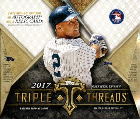 2017 Topps Triple Threads Baseball Hobby Box Topps | Cardboard Memories Inc.