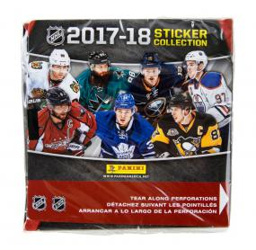 2017-18 Panini Hockey Sticker Box Panini | Cardboard Memories Inc.