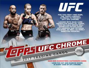 2017 Topps Chrome UFC Hobby Box Topps | Cardboard Memories Inc.