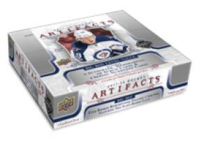 2017-18 Upper Deck Artifacts Hockey Hobby Box Upper Deck | Cardboard Memories Inc.