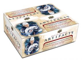 2017-18 Upper Deck Artifacts Hockey Retail Box Upper Deck | Cardboard Memories Inc.