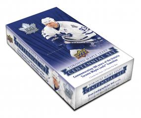 2017-18 Upper Deck Toronto Maple Leafs Centennial Hockey Hobby Box Upper Deck | Cardboard Memories Inc.