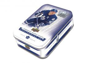 2017-18 Upper Deck Toronto Maple Leafs Centennial Hockey Tin Upper Deck | Cardboard Memories Inc.