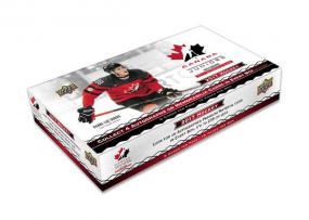 2017 Upper Deck Team Canada Juniors Hobby Box Upper Deck | Cardboard Memories Inc.