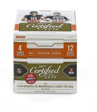 2017 Panini Certified Cuts Football Hobby Box Panini | Cardboard Memories Inc.