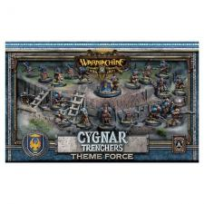 Warmachine- Cygnar Trenchers Theme Force Box PIP 31901 Privateer Press | Cardboard Memories Inc.