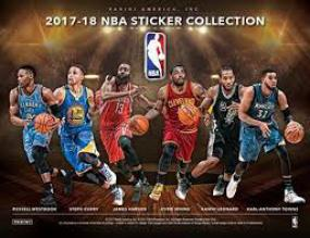 2017-18 Panini NBA Basketball Sticker Box Panini | Cardboard Memories Inc.