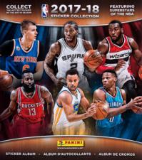 2017-18 Panini NBA Basketball Sticker Album Panini | Cardboard Memories Inc.