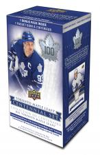 2017-18 Upper Deck Toronto Maple Leafs Centennial Blaster Box Upper Deck | Cardboard Memories Inc.