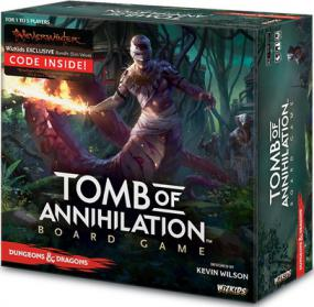 Dungeons & Dragons - Tomb of Annihilation Board Game Wizards of the Coast | Cardboard Memories Inc.