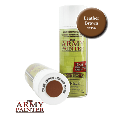 Army Painter - Colour Primer - Leather Brown Spray