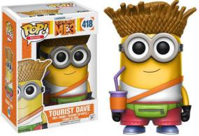 POP! Despicable Me 3 - Tourist Dave Funko | Cardboard Memories Inc.