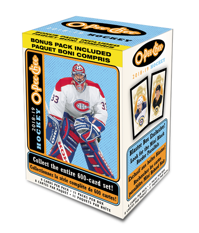 2018-19 Upper Deck O-Pee-Chee Hockey Blaster Box