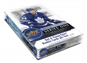 2017-18 Upper Deck Series 1 Hockey Hobby Case (12) Upper Deck | Cardboard Memories Inc.