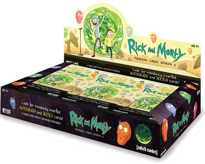 Cryptozoic - 2019 - Rick and Morty - Season 2 - Hobby Box