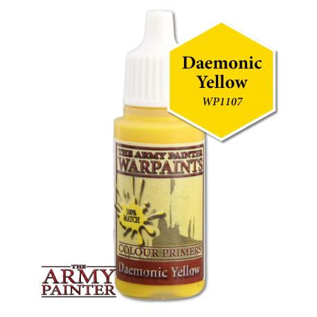 Army Painter Warpaints - Daemonic Yellow The Army Painter | Cardboard Memories Inc.