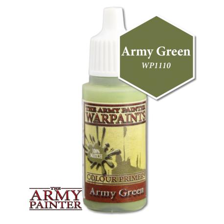 Army Painter Warpaints - Army Green The Army Painter | Cardboard Memories Inc.