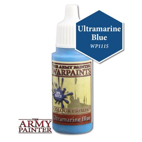Army Painter Warpaints - Ultramarine Blue The Army Painter | Cardboard Memories Inc.