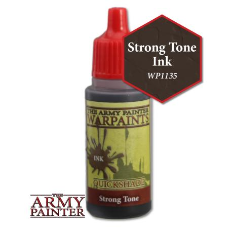 Army Painter Warpaints - Strong Tone The Army Painter | Cardboard Memories Inc.