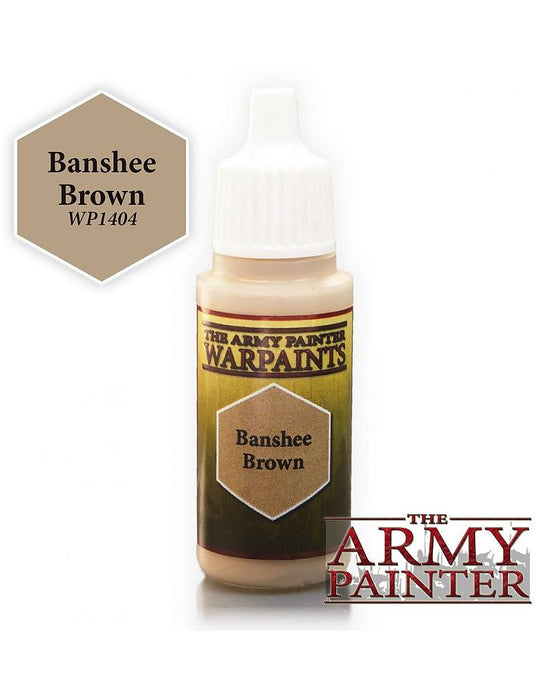 Army Painter Warpaints - Banshee Brown The Army Painter | Cardboard Memories Inc.