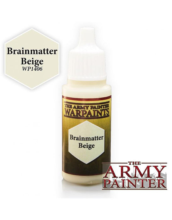 Army Painter Warpaints - Brainmatter Beige The Army Painter | Cardboard Memories Inc.