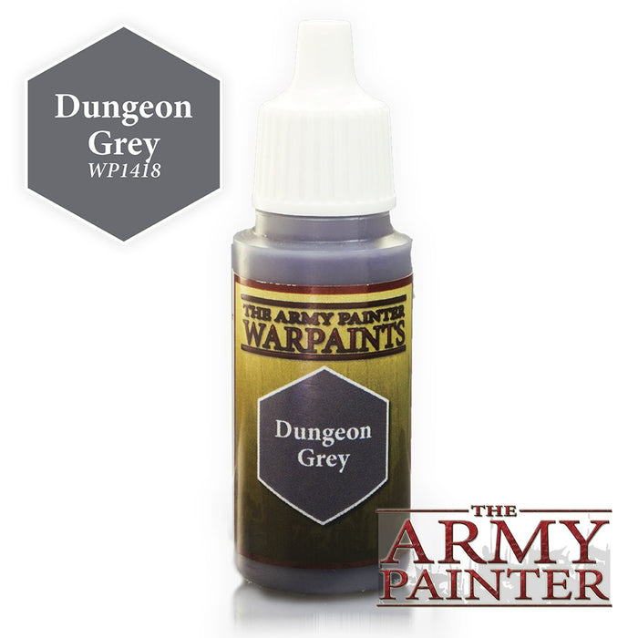 Army Painter Warpaints - Dungeon Grey The Army Painter | Cardboard Memories Inc.